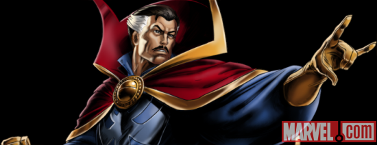 Dr. Strange from Marvel: Avengers Alliance