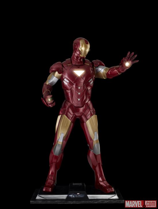 Marvel's The Avengers Iron Man statue by Muckle Mannequins