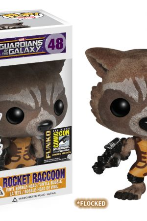 San Diego Comic-Con Exclusive Flocked Rocket Raccoon