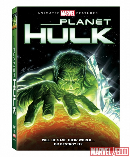 Planet Hulk Box Art
