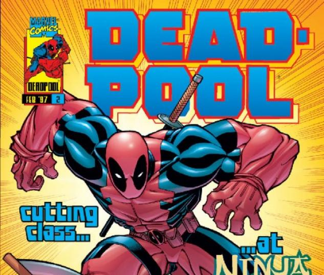 DEADPOOL #2 COVER