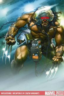 Wolverine Weapon X (2009) #1 (KUBERT (50/50 COVER))