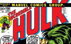 INCREDIBLE HULK #156 COVER
