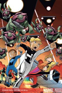 Power Pack: Day One (2008) #4