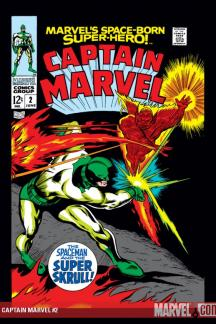 Captain Marvel (1968) #2