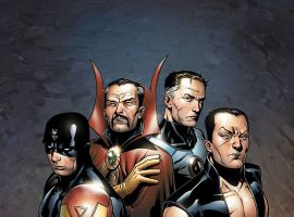New Avengers: Illuminati #1 cover by Jim Cheung