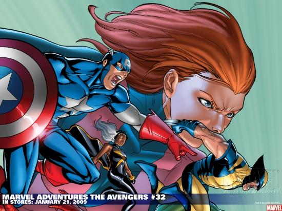 Marvel Adventures the Avengers (2006) #32 Wallpaper