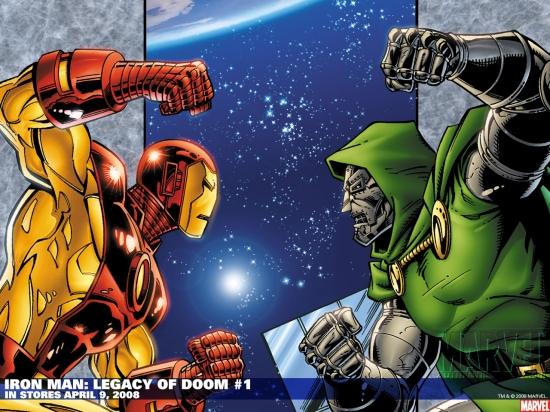 Iron Man: Legacy of Doom (2008) #1 Wallpaper