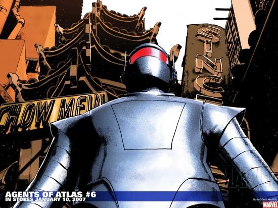 Agents of Atlas (2006) #6 Wallpaper