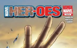 MARVEL HER-OES #2 cover by Sara Pichelli
