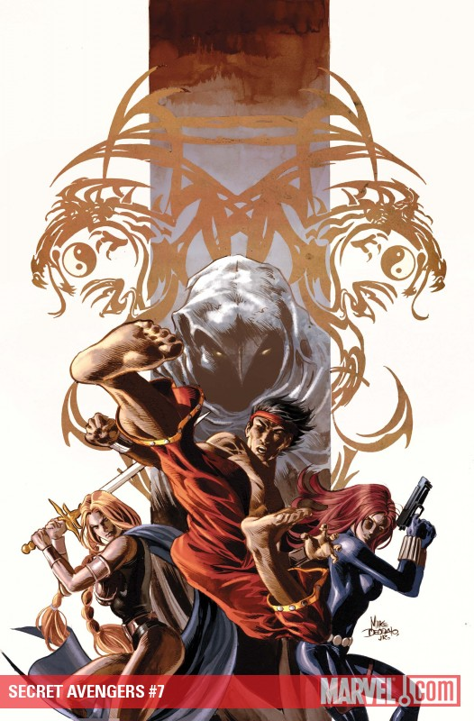Secret Avengers #7 cover by Mike Deodato