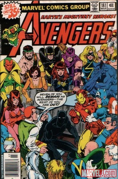Image Featuring Vision, Avengers, Wasp, Beast, Wonder Man, Black Panther, Captain Marvel (Carol Danvers), Black Widow, Henry Peter Gyrich, Captain America, Hank Pym, Hawkeye, Hercules (Heracles), Iron Man, Scarlet Witch