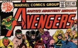 Image Featuring Hawkeye, Hercules, Iron Man, Scarlet Witch, Thor, Vision, Avengers, Wasp, Beast, Wonder Man, Black Panther, Captain Marvel (Carol Danvers), Black Widow, Henry Peter Gyrich, Captain America