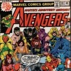 Image Featuring Hercules (Heracles), Iron Man, Scarlet Witch, Thor, Vision, Avengers, Wasp, Beast, Wonder Man, Black Panther, Captain Marvel (Carol Danvers), Black Widow, Henry Peter Gyrich, Captain America, Hank Pym