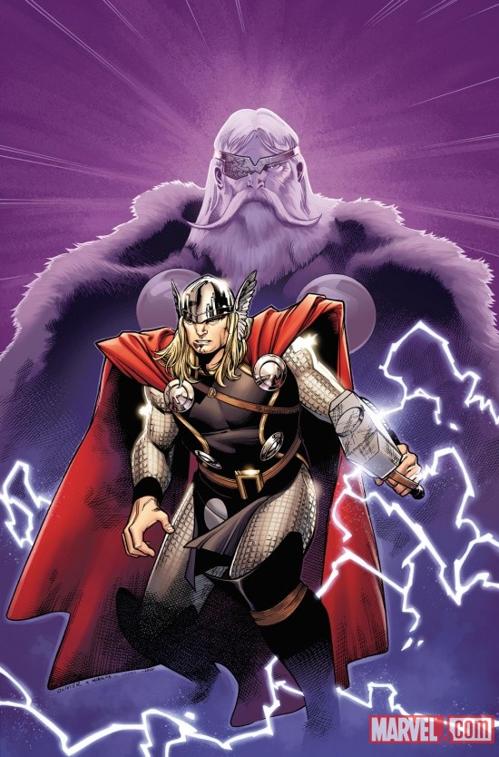 The Mighty Thor cover by Olivier Coipel