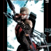 Ultimate Comics Hawkeye #1 Cover by Kaare Andrews