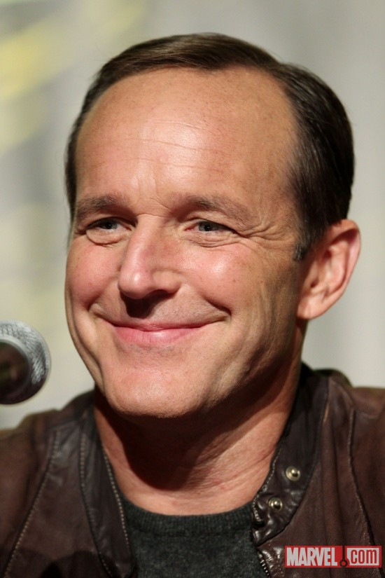 New York Comic Con 2011: Clark Gregg at the Marvel's The Avengers panel