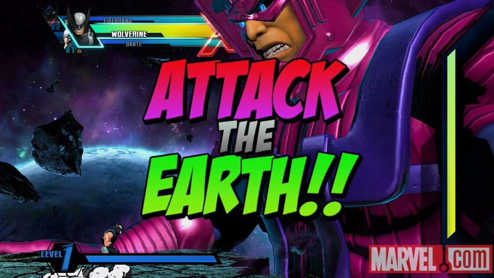 Ultimate Marvel vs. Capcom 3- Galactus Mode Screenshot 1
