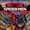 Spider-Men #1 Second Printing variant cover
