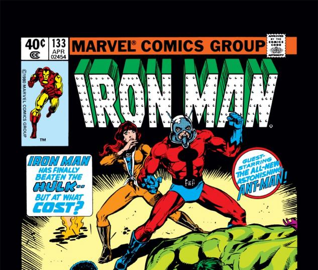Iron Man (1968) #133 Cover