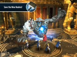 Help Thor save the Nine Realms in Marvel's Thor: The Dark World - The Official Game