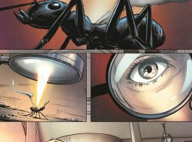 Edge of Spider-Verse #4 preview art by Elia Bonnetti