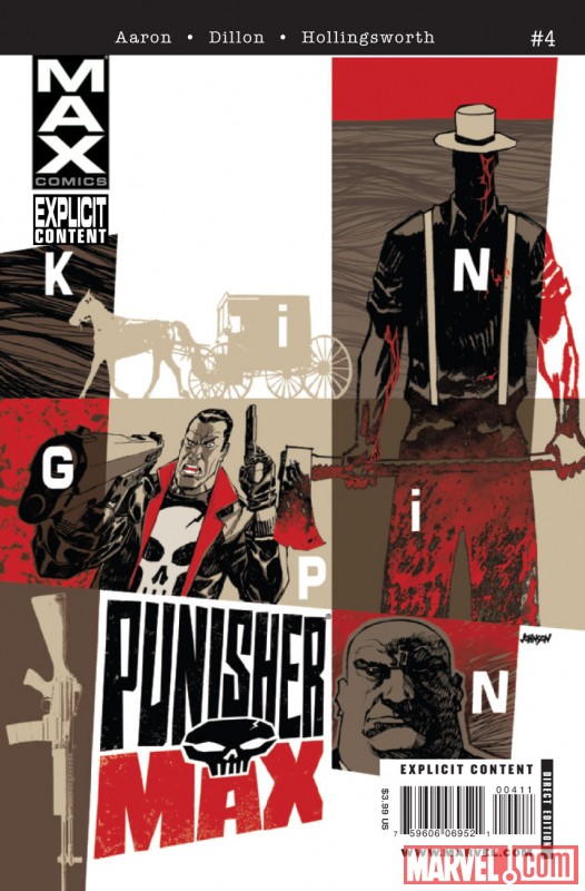 PUNISHERMAX #4 Cover by Dave Johnson