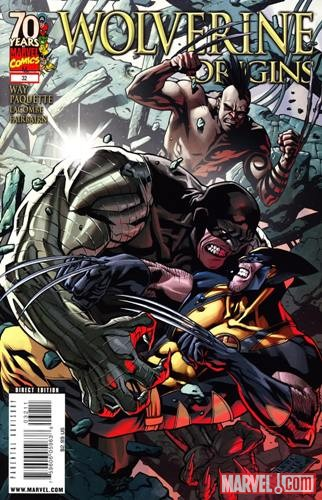 WOLVERINE: ORIGINS (2006) #32