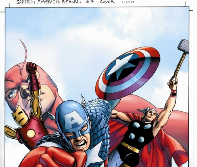 Captain America: Reborn (2009) #4 (CASSADAY VARIANT)