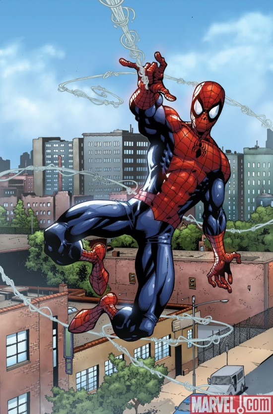 SPIDER-MAN: THE CLONE SAGA preview art by Todd Nauck