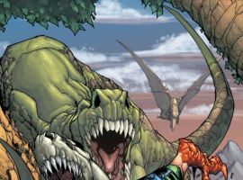 AVENGERS: THE INITIATIVE FEATURING REPTIL #1 cover by Humberto Ramos