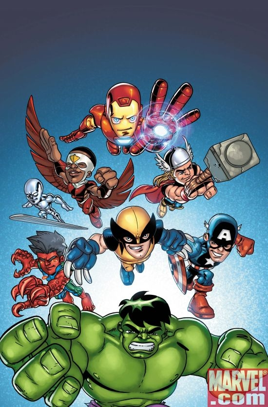MARVEL SUPER HERO SQUAD: HERO UP! ONE-SHOT (Hero variant)