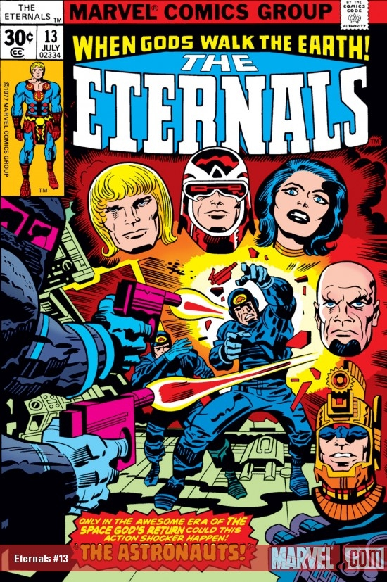 ETERNALS (2009) #13 COVER