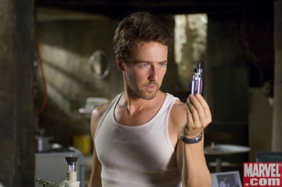 Edward Norton as Dr. Bruce Banner
