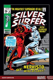 Silver Surfer (1968) #16
