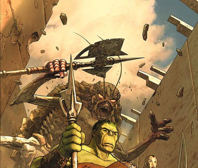 INCREDIBLE HULK (2008) #100 COVER