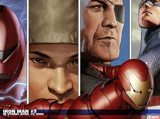 Iron Man (1968) #7 Wallpaper