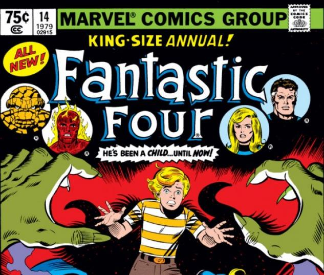 FANTASTIC FOUR ANNUAL #14 COVER