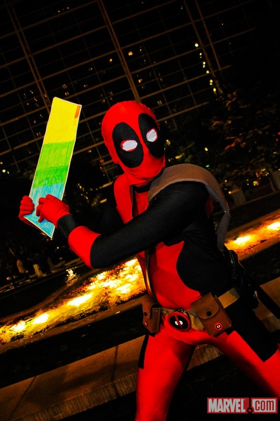 Katsucon 2011: MVSC3 Gathering, Deadpool Cosplayer