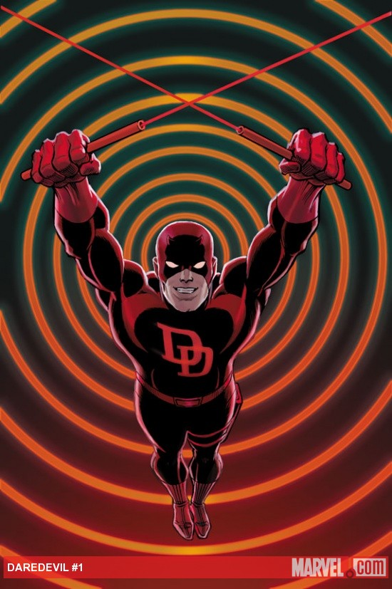 Daredevil #1 variant cover art by John Romita, Sr.