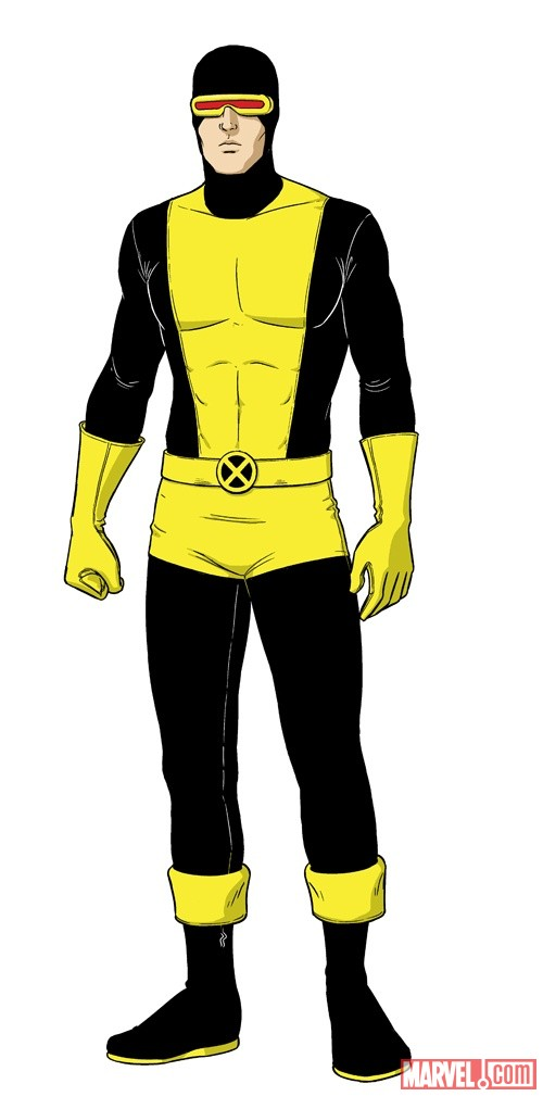 Cyclops design by Jamie McKelvie