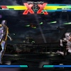 Screenshot of Arthur vs. Magneto in &quot;Ultimate Marvel vs. Capcom 3&quot;