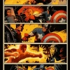 Captain America and Bucky #626 preview art by Francesco Francavilla