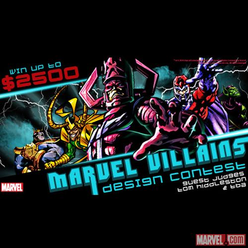 Mighty Fine's Marvel Villains Design Contest