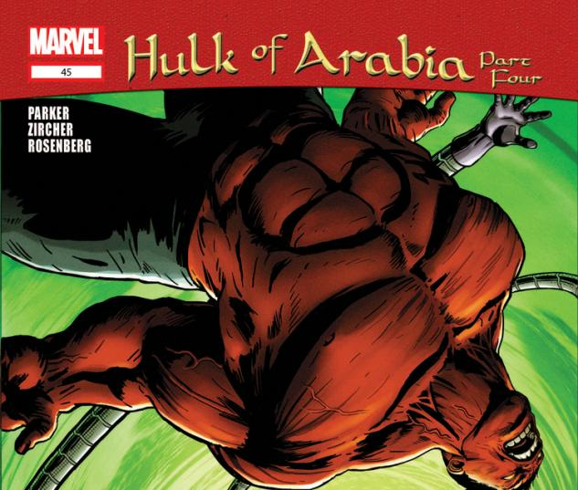 Cover: Hulk (2008) #45