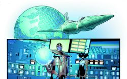 Mighty Avengers (2013) #1 preview art by Greg Land