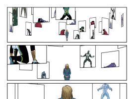 Young Avengers (2013) #10 preview art by Jamie McKelvie