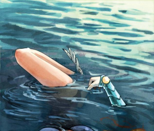 Namora (2010) #1 cover