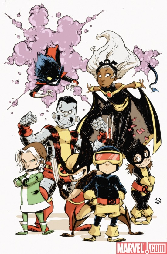 X-Babies #1 cover by Skottie Young