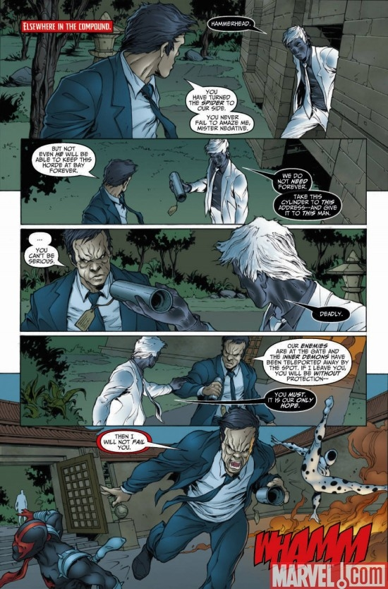 DARK REIGN: MR. NEGATIVE #2, page 6